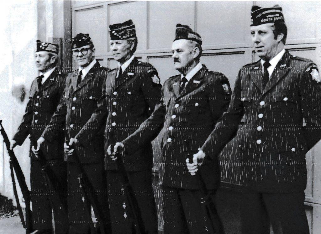 National Guard Firing Squad